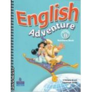 English Adventure Starter B Teacher's Book(editura Longman, autori: Cristiana Bruni, Susannah Reed isbn: 0-582-82834-1-)
