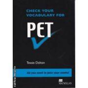 Check your vocabulary for PET