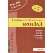 Evaluarea Curenta Limba si Lliteratura Romana clasa 7 a