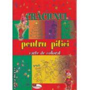 Craciunul pentru pitici carte de colorat