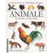 Cartea mea cu abtibildui despre Animale de la ferma si multe altele