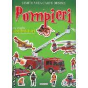 Uimitoarea carte despre Pompieri cu multe abtibilduri
