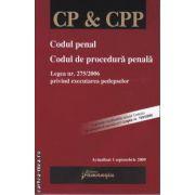 Codul penal Codul de procedura penala 1 septembrie 2009
