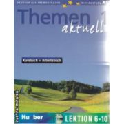 Themen Aktuell 1 Kursbuch + Arbeitsbuch Lektion 6-10 + CD