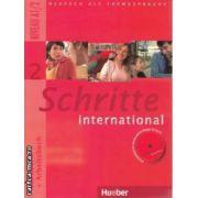 Schritte international  Kursbuch + Arbeitscbuch 2 Niveau A1/2 + CD