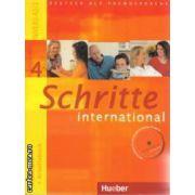 Schritte international  Kursbuch + Arbeitscbuch 4 Niveau A2/2 + CD