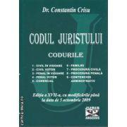 Codul juristului Codurile 2009
