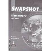 Snapshot Elementary Test Book(editura Longman, autor:Patricia Mugglestone isbn:0-582-30651-5)