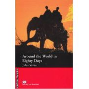 Around the World in Eighty Days - Level 1 Starter ( editura: Macmillan, autor: Jules Verne, ISBN 978-0-2300-2674-2 )