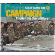 Campaign 3 English for the military Class Audio CDs