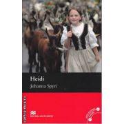 Heidi Level 4 Pre-Intermediate ( editura: Macmillan, autor: Johanna Spyri, ISBN 978-0-230-03441-9 )