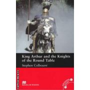 King Arthur and the Knights of the Round Table - Level 5 Intermediate ( editura: Macmillan, autor: Stephen Colbourn, ISBN 978-0-2300-3444-0 )