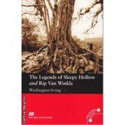 The Legends of Sleepy Hhollow and Rip Van Winkle - Level 3 Elementary ( editura: Macmillan, autor: Irving Washington, ISBN 978-0-2300-3511-9 )
