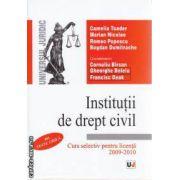 Institutii de drept civil Curs selectiv pentru licenta 2009-2010