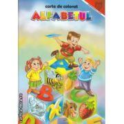 Alfabetul carte de colorat