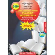 Limba si literatura romana Evaluarea Nationala 2010 clasa 8 a