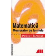 Matematica Memorator de formule Pocket Teacher