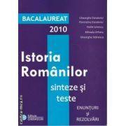 Istoria Romanilor sinteze si teste Bacalaureat