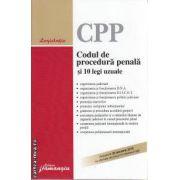 Codul de procedura penala si 10 legi uzuale