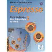 Espresso Corso di Italiano 2 Libro dello studente ed esercizi +CD