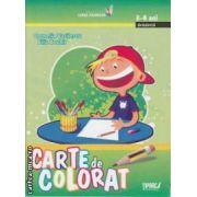 Carte de colorat 3-4 ani