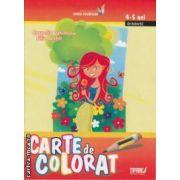 Carte de colorat 4-5 ani