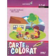 Carte de colorat 5-7 ani