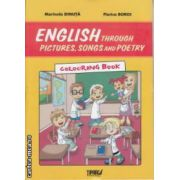 English Through Pictures songs and Poetry Colouring Book