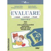 Evaluare clasa 3-a Teste pt Romana Matematica Stiinta ale naturii Educatie civica Penes