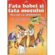 Fata babei si fata mosului Povesti cu abtibilduri