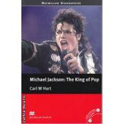 Michael Jackson The King of Pop - level 4 Pre-Intermediate ( editura: Macmillan, autor: Carl W Hart, ISBN 978-0-2304-0631-5 )
