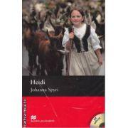 Heidi Level 4 Pre Intermediate +CD ( editura: Macmillan, autor: Johanna Spyri, ISBN 978-0-2300-2679-7 )