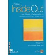 New Inside Out Beginner Workbook with key +CD