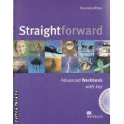 Straightforward Advanced Workbook with key + CD