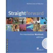 Straightforward Pre - intermediate Workbook with key + CD