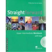Straightforward Upper Intermediate Workbook with key + CD