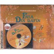 Fata din dafin (povestea si carte de colorat si CD)