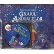 Graiul animalelor (povestea si carte de colorat si CD)