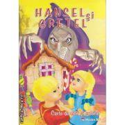 Hansel si Gretel Carte de citit si colorat