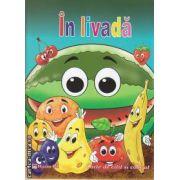 In livada Carte de citit si colorat