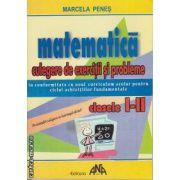 Matematica culegere de exercitii si probleme clasele 1-2 Penes