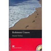 Robinson Crusoe - Level 4 Pre-Intermediate + CD ( editura: Macmillan, autor: Daniel Defoe, ISBN 978-0-2307-1656-8 )