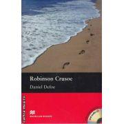 Robinson Crusoe - Level 4 Pre-Intermediate + CD ( editura: Macmillan, autor: Daniel Defoe, ISBN 978-0-2307-1656-8 )