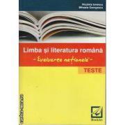 Limba si literatura romana Evaluarea nationala Teste