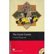 The Great Gatsby Level 5 Intermediate + CD ( editura: Macmillan, autor: F. Scott Fitzgerald, ISBN 978-1-4050-7703-3 )