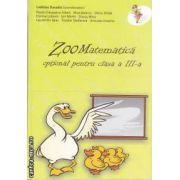 ZooMatematica optional pentru clasa 3 a