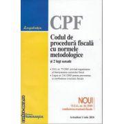 CPF Codul de procedura fiscala cu normele metodologice