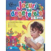 Jocuri cu degetelele 2 -4 ani
