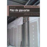 Placi din gips-carton utilizare si montaj