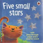 Five small stars (with peep-through pages and a surprise sound)